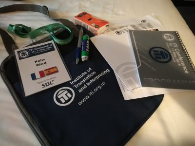 ITI Conference bag
