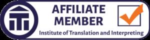 ITI Affiliate Member Logo